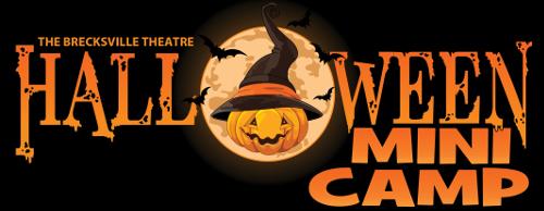 fall mini camp halloween edition the brecksville theatre